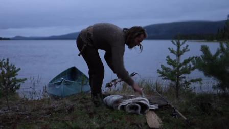 【全职野人】荒野的木工铁匠露营,维京后裔。-06. 3天野外露营之旅