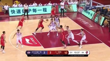 19-20赛季CBA复赛第一阶段全场集锦:广州104-88八一