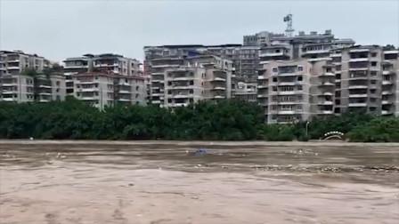 重庆发布洪水红色预警 綦江将出现1940年以来最大洪水