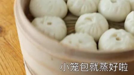 小笼包新做法:学会软面配方,和老面发酵一样好吃,鲜香又松软!
