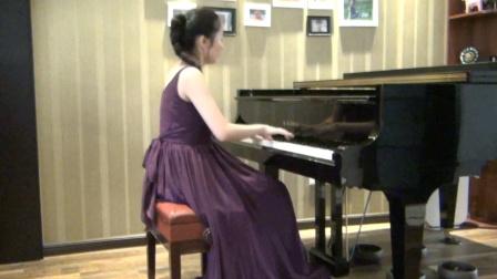 张乐子2019至2020学年第二学期期末考试肖邦练习曲Op.10 No.8(2'22'')