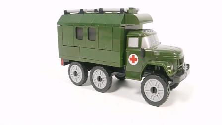 拼装一辆医用卡车