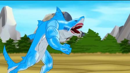 哥斯拉:哥斯拉与鲨鱼恐龙,真正的较量开始了