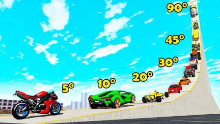 汽车能冲上90度的斜坡吗?3D演示全过程,看完让人意外!