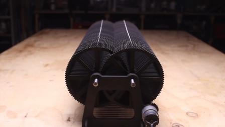 100个齿制成的减速装置,你猜转动最后1个齿轮要多久?