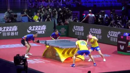 谁是乒坛第一双打组合!国乒黄金组合打得日本第一混双垂头丧气