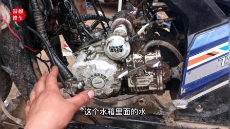 这才是水冷摩托车水箱总是烧开的真正原因?更换一个垫片就能修好
