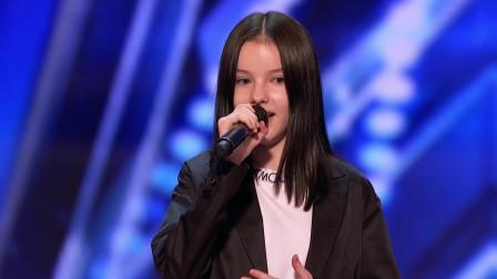 13岁哈萨克斯坦小萝莉Daneliya唱功惊人