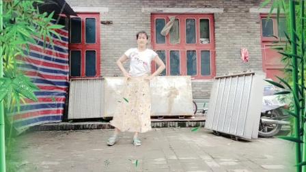 水头镇西下晁广场舞新疆舞《美丽的姑娘我爱你》