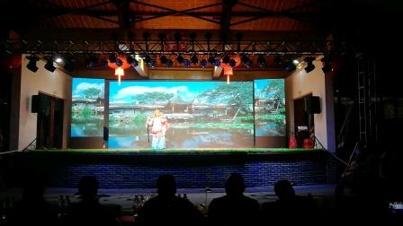 浦江戏迷;在上河戏迷决赛中演唱《一太师回朝》