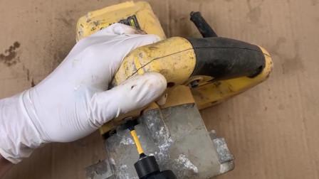 多年没用的瓷砖切割机有点瘫痪,拆开处理翻修一下,成就感爆棚