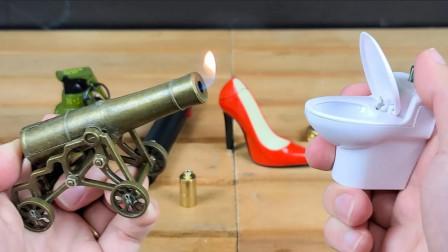 盘点五种奇葩打火机,按下开关的那刻,简直霸气侧漏!
