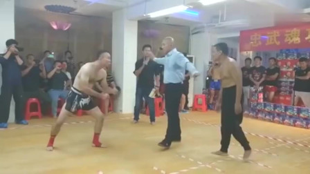 海南泰拳高手VS正统传统武术, 这差距不是一般的大!