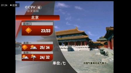 2011 07 03 CCTV4 中国新闻天气预报以及结束前后的广告