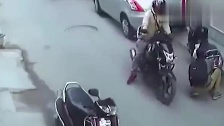 印度街头监控曝光,谁也不会想到光天化日之下,会发生这种事!
