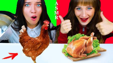未知食物大作战:姐妹俩随机挑选,开盖瞬间太惊喜!