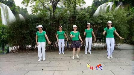 广晋广场舞《你莫走》简单爆红舞蹈