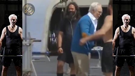 职业运动员假扮老人街头 举重PK年轻人!惊呆路人