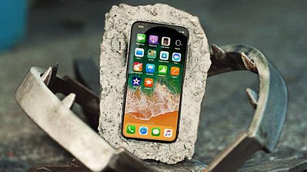 将手机用混凝土包裹,扔到捕鼠夹上会碎吗?结果让人意外