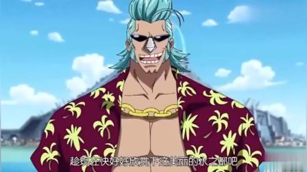 海贼王:卡普怼路飞:你不过是我孙子!