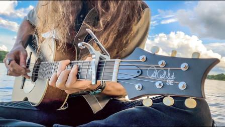 指套缓缓演奏出穿透力超强的布鲁斯动听音符