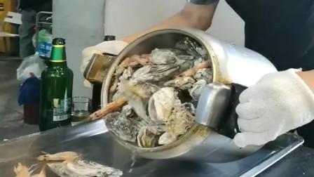 广东老板花1000多去餐厅吃海鲜,看样子挺值的,你们觉得呢