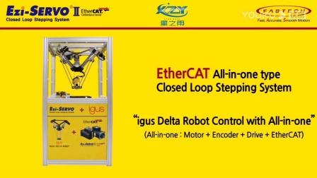 112.Ezi-SERVOII EtherCAT 4-Axis Delta