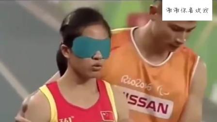 最美运动员,残奥会冠军,我们还有什么理由不努力呢