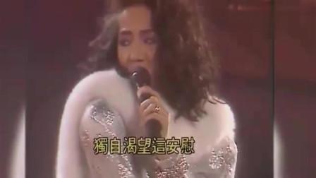 梅艳芳早年超前卫舞台表演,大长腿太养眼,空前绝后