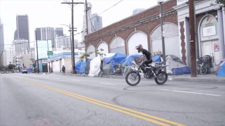 炫酷的街头自行车,精彩不止一瞬间