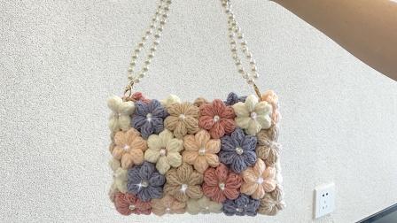 Stuuuly花朵包编织教程