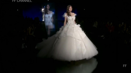 经典时尚T台秀:2020米兰时装周Julia Kontogruni超模走秀第三部分
