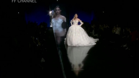 经典时尚T台秀:2020米兰时装周Julia Kontogruni超模走秀第四部分