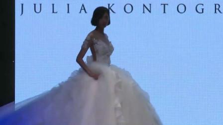 经典时尚T台秀:2020米兰时装周Julia Kontogruni超模走秀第七部分
