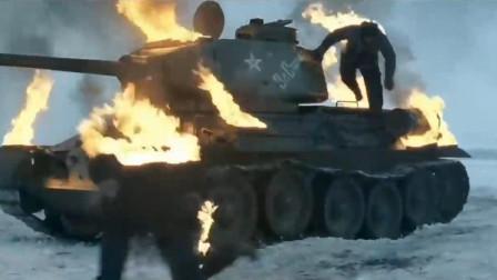 斯大林格勒包围圈中的德军,在冰天雪地之中做最后的抵抗