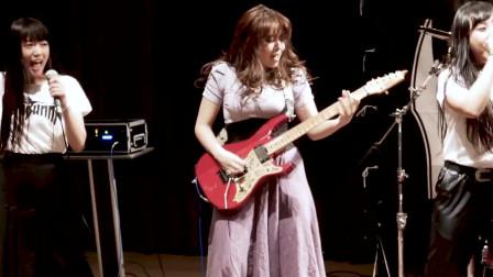铁兔机器人乐队与日本女子金属乐队吉他手SAKI合作翻唱