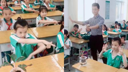 别人家的老师!全班同学一起跳舞是什么体验?可爱的小宝贝们!