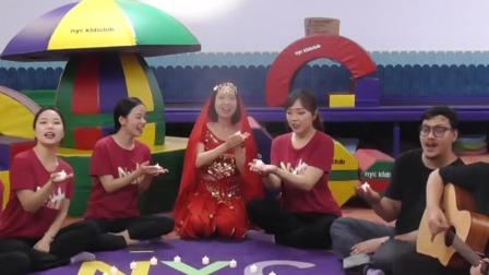 早教老师欢乐唱跳,带您感受印度节日的欢乐气息 早教有方 20200702