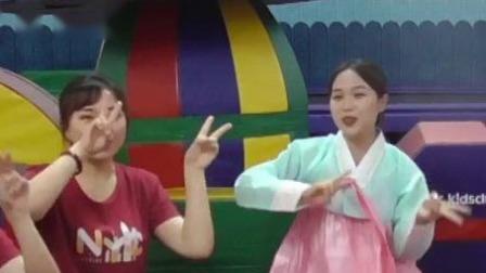 韩国儿歌《山兔子》,欢乐曲调萌化人心 早教有方 20200702