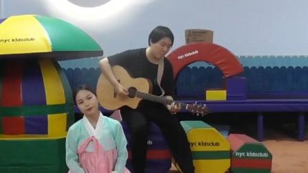 美丽老师温柔开唱《阿里郎》,一开口心都化了! 早教有方 20200702