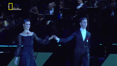 2019WDSF世界体育舞蹈公开赛标准舞-爱沙尼亚 Madis Abel & Aleeksandra Galkina - 快步