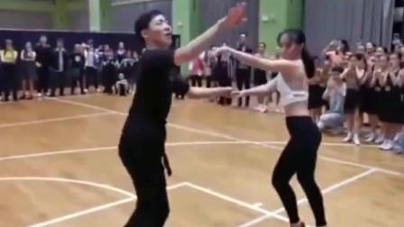 这么猛的拉丁舞,看着真带劲