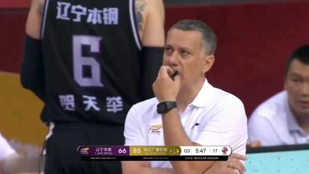 辽宁vs广夏:辽宁落后广厦25分!这就是两队的差距!5个位置都被广厦完爆!