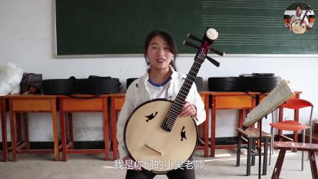 传统乐器中阮教学,今天我们来学习弹奏时的标准坐姿,以及抱姿