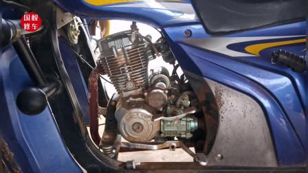摩托车油箱进水生锈了不好处理怎么办?师傅教你个方法,轻松修好