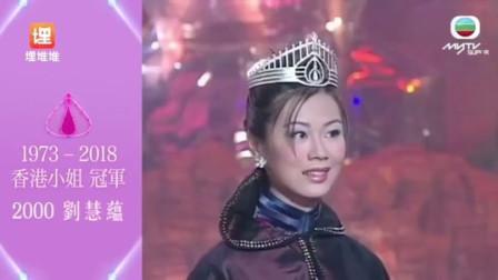 历年香港小姐冠军