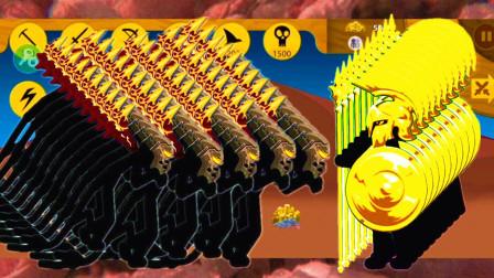 火柴人战争遗产:狮鹫大帝闪亮登场,经典战役遇到斯巴达士兵,会怎样?