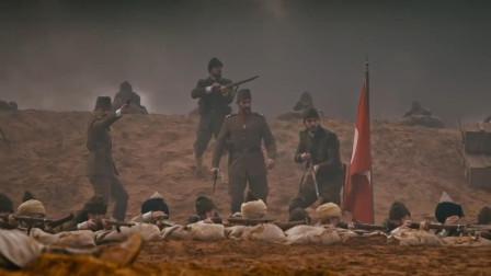 英军士兵进攻对方阵地受挫,反被一个反冲锋打的溃不成军