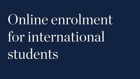 伍伦贡大学国际学生远程注册指南