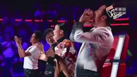 《中国好声音》最牛选手,四位导师下台等她的选择,唱功确实厉害